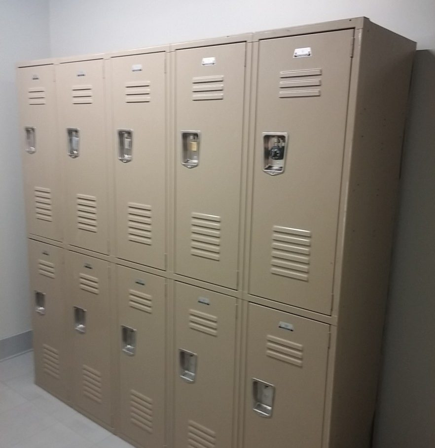 NEXT on Main Gym Lockers